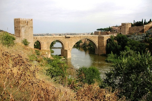 Picture of Puente de San Martin. This and other monuments are very close to this beautiful guesthouse in the historic center of Toledo, 150 meters from Plaza Zocodover and 2 minutes walk from the cathedral